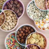 過年干果盤家用客廳水果盤分格帶蓋糖果盒【3c玩家】