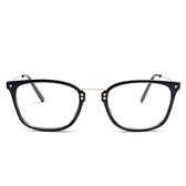 鏡框(方框)-時尚新款舒適輕盈男女平光眼鏡5色73oe9[巴黎精品]