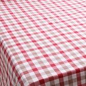 日式色織水洗棉被套 紅色款