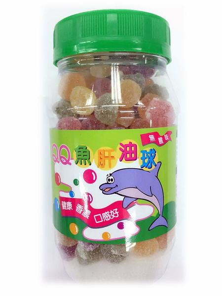 QQ魚肝油球300G  [仁仁保健藥妝]