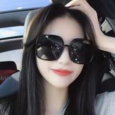 墨鏡女新款D家款霍思燕太陽鏡大框大臉顯瘦防紫外線 優尚良品