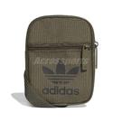 adidas 包包 Trefol Fstvl Bag 男女款 小側腰包 小包 證件包 三葉草 軍綠 【PUMP306】 DV2407