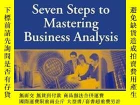 二手書博民逛書店Seven罕見Steps To Mastering Business AnalysisY364682 Barb