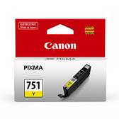 【奇奇文具】佳能Canon CLI-751Y 黃色 原廠墨水匣