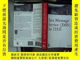 二手書博民逛書店java罕見message service jms for j2