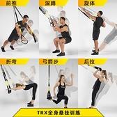TRX ALL-IN-ONE懸掛訓練帶 拉力繩健身專用器材家用練腹翹臀 衣櫥秘密