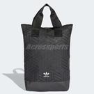 adidas 後背包 Originals 3D Backpack 三宅一生 黑 立體格紋 新款 男女款【PUMP306】 DV0202