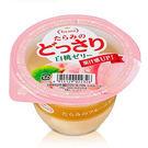 【日本】Tarami 鮮Q白桃鮮果肉果凍230g/個【愛買】
