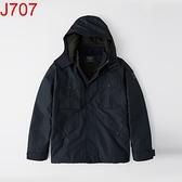 AF Abercrombie & Fitch A&F A & F 男 風衣外套 J707