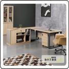 {{ 海中天休閒傢俱廣場 }} G-35 摩登時尚 商業OA 辦公桌系列 606-7 比特6尺主管桌(不含側櫃.活動櫃)