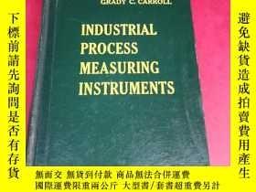 二手書博民逛書店英文原版罕見INDUSTRIAL PROCESS MEASURING INSTRUMENTS 工業過程測量儀表