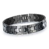 【5折超值價】潮流時尚歐美街頭個性風格男款鈦鋼手鏈
