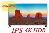 ***東洋數位家電***含運+安裝 LG電視 86UK6500PWB 86型 智慧聯網 4K 電視 IPS面板 附聲控遙控器