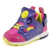 Reebok Pump Fury 男 女孩 小童鞋 紅 黑 魔鬼氈 運動休閒鞋 學步鞋 AR0715