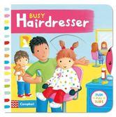 Busy Hairdresser 忙碌的理髮廳 硬頁操作拉拉書