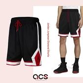 Nike 短褲 Jordan Jumpman Diamond Shorts 黑 紅 男款 籃球褲 喬丹 運動休閒 【ACS】 CV6023-010