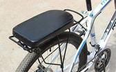 腳踏車后坐墊山地車載人加厚貨架