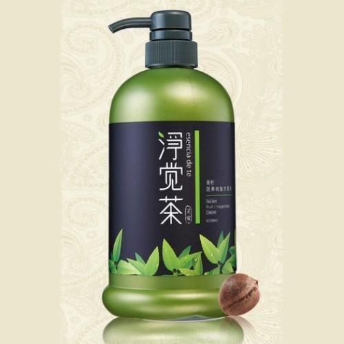天然茶籽餐具洗潔液(800c.c./瓶)-生長於深山曠野無需噴灑農藥,是大自然孕育極久的天然果!
