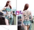 來福妹泳衣,C802泳衣變化萬千長外套三件式泳衣游泳衣泳裝比基尼泳衣正品,售價980