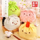 角落生物 日本san-x角落生物 墻角生物創意毛絨拍立得手機女飾品束口收納袋 【童趣屋】