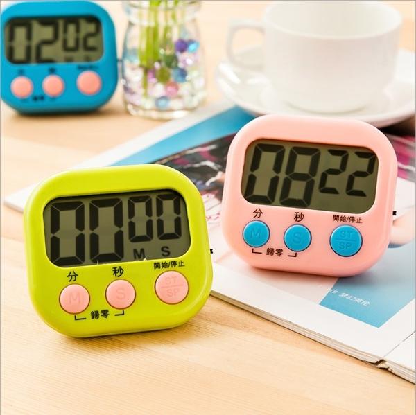 Qmishop 倒數計時器 定時器 磁吸式 提醒器 可掛電子計時器【J231】