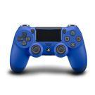 [哈GAME族]免運費 可刷卡●送類比蘑菇頭●PS4 SONY DUALSHOCK 4 光條觸控版 新款 無線控制器 藍色