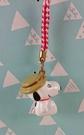 【震撼精品百貨】史奴比Peanuts Snoopy ~手機吊飾_咖啡色帽子