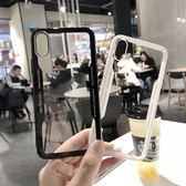 iphonex手機殼蘋果8X情侶網紅iPhone7plus透明軟殼6s潮牌6p男女款【快速出貨85折】