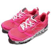【六折特賣】Reebok 慢跑鞋 Hexaffect Run LE 粉紅 白 路跑 女鞋【PUMP306】 AQ9354