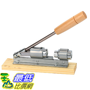 [106美國直購] 山核桃巴西堅果碎殼器 8milelake Desktop Wood and Metal Walnut or Pecan Heavy Duty Nut Cracker