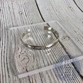 BRAND楓月 GUCCI 古馳 純銀硬手環 飾品 手鐲