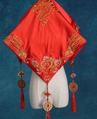 618好康又一發新娘結婚紅蓋頭新款進口綢緞繡