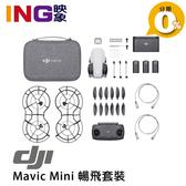 【分期0利率】DJI 大疆 MAVIC MINI 超輕型空拍機 暢飛套裝版 公司貨 2.7K 三軸穩定相機