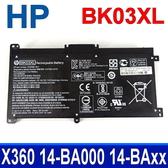 HP BK03XL 3芯 原廠電池 14-ba055tx 14-ba060tx 14-ba061tx 14-ba062tu 14-ba064tx 14-ba066tu 14-ba037tu 14-ba045tu 14-ba051tx