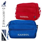 KANGOL 側背包 LIBERTY系列 韓版潮流 橫式側背包 斜背包 LOGO背帶 KG1192 得意時袋