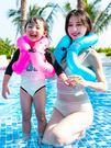 游泳圈兒童加厚小孩充氣游泳背心救生衣大人泳圈游泳裝備初學者 漾美眉韓衣