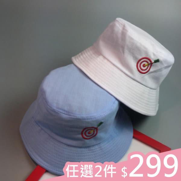 現貨-2件299元-漁夫帽-弓箭正中紅心漁夫帽 Kiwi Shop奇異果【SWG2370】