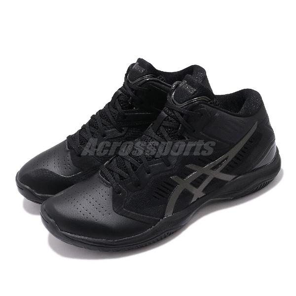 Asics 籃球鞋 Gelhoop V12 Wide 寬楦 黑 銀 男鞋 運動鞋 【ACS】 1063A020001