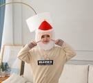 【單一款】鰲拜造型頭帽 變裝帽 拍照裝飾品 聖誕節交換禮物 尾牙春酒派對表演 搞怪道具