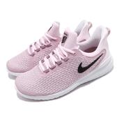 Nike 慢跑鞋 Wmns Renew Rival 2E Wide 粉紅 黑 女鞋 舒適緩震 運動鞋【PUMP306】 AV8457-604