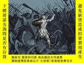 二手書博民逛書店The罕見Barbarian Invasions: History of the Art of War, Volu