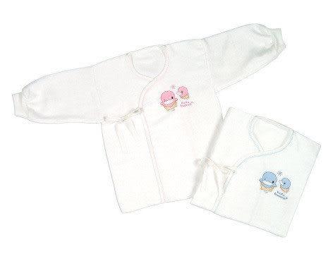 【奇買親子購物網】酷咕鴨KU.KU. 緹花紗布肚衣-L(藍色/粉色)