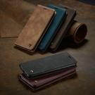 caseme 小米 10T Pro 手機殼 皮套 小米 10 Lite 5G 防摔 保護套 復古磨砂 皮套支架 磁吸插卡 保護殼