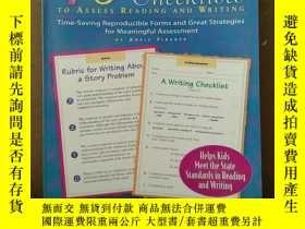 二手書博民逛書店40罕見Rubrics & Checklists To Assess Reading And Writing (G