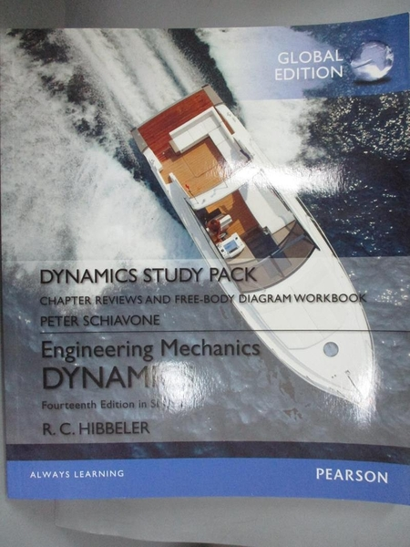 【書寶二手書T1/科學_HMZ】Engineering Mechanics-Dynamics, Study Pack_Russell C. Hibbeler