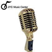 ★JYC Music★KB-81復古經典麥克風組~含直立支架+5米線(金色)