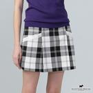 小A字裙剪裁X口袋邊蕾絲設計褲裙 Scottish House【AE2109】