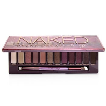 SW Urban Decay-93 眼影盤 Naked Cherry Eyeshadow Palette: 12x Eyeshadow, 1x Double Ended Brush