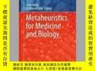 二手書博民逛書店Metaheuristics罕見for Medicine and BiologyY405706 Amir Na