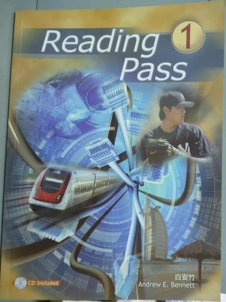【書寶二手書T2/語言學習_PMW】Reading pass 1_白安竹_有光碟